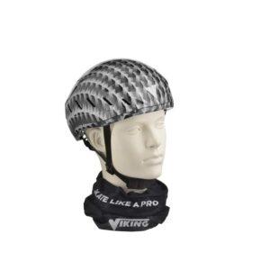 Schaats helm grijs-zwart
