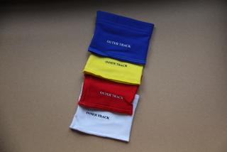 Wedstrijdbandjes 4 kleuren